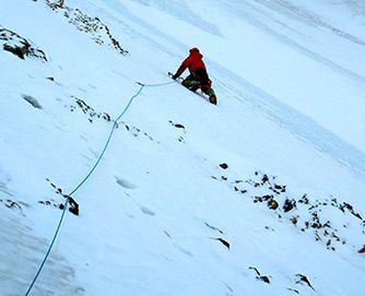 Ice climbing with MAXIM ropes