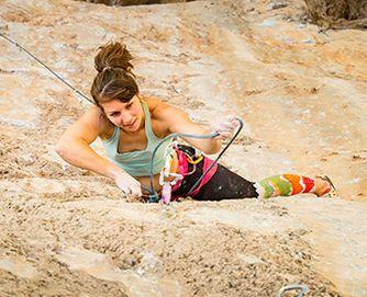 Trad climbing with MAXIM ropes