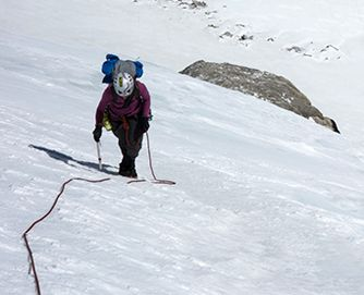 Alpine climbing and mountaineering with MAXIM ropes