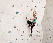 Gym climbing with MAXIM ropes