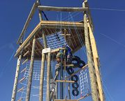 Challenge and aerial rope courses