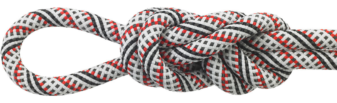Maxim Equinox Red/White Dynamic Ropes