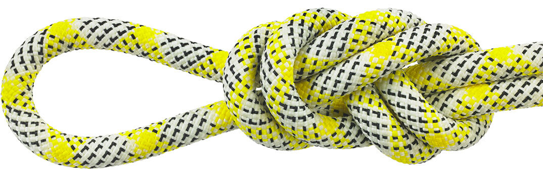 Maxim Equinox Yellow/White Dynamic Ropes