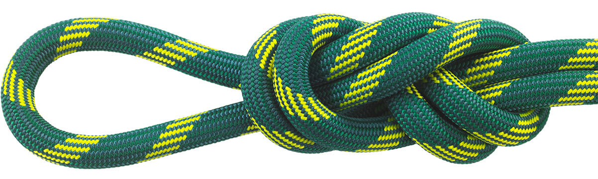 Maxim Glider Green/Yellow Dynamic Ropes