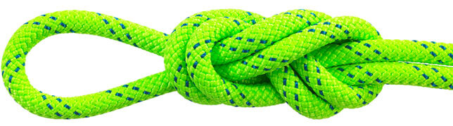 Maxim KM III Safety Green Static Ropes