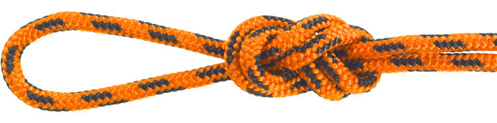Nylon Accessory Cord Orange/Black