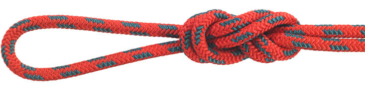 Nylon Accessory Cord Red/Teal