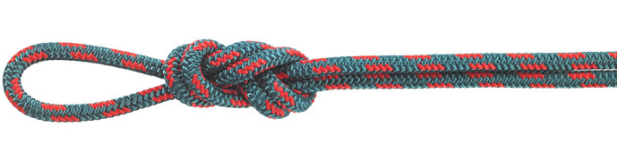 Nylon Accessory Cord Teal/Red