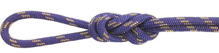 Nylon Accessory Cord Purple/Tan
