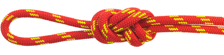 Nylon Accessory Cord Red/Yellow