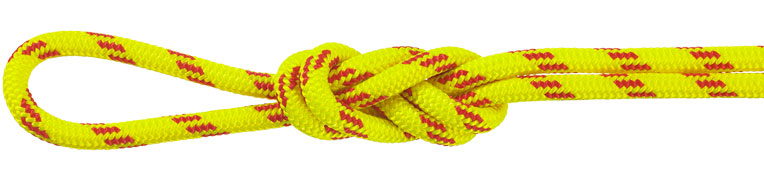 Nylon Accessory Cord Yellow/Red
