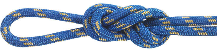 Nylon Accessory Cord Blue/Gold