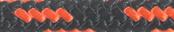 Nylon Accessory Cord Black/Orange