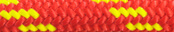 Nylon Accessory Cord Red/Yellow