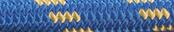 Nylon Accessory Cord Blue/Gold