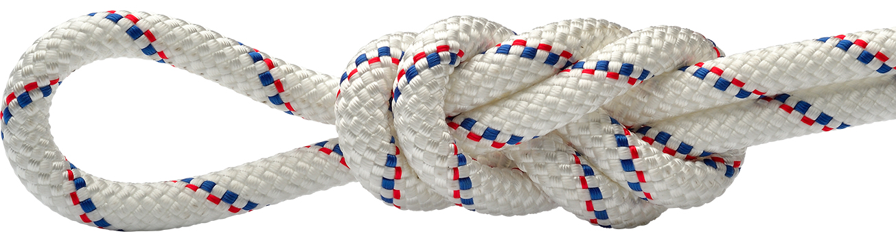 Patron White/Blue/Red Static Rope