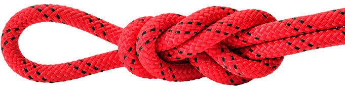 Maxim Patron Red/Black Static Rope