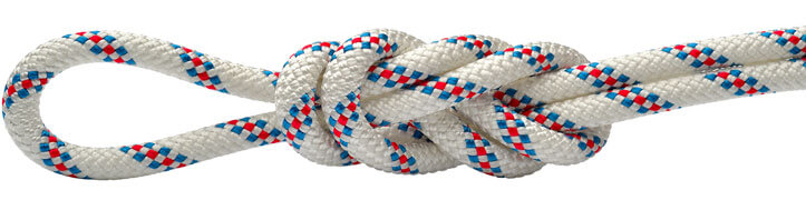 Maxim Patron White/Blue Static Rope