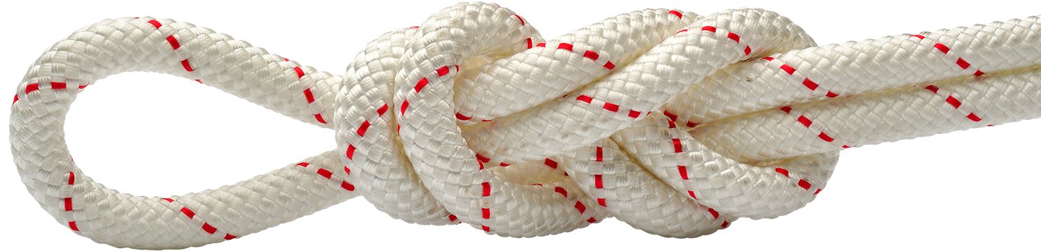 Maxim Patron White-Red Static Rope
