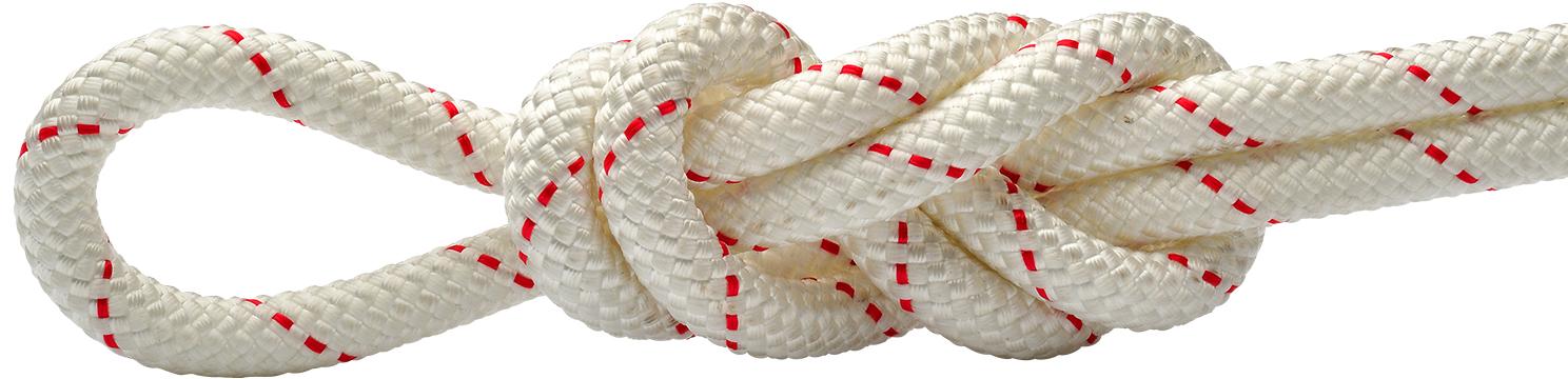 Maxim Patron White-Red Static Rope