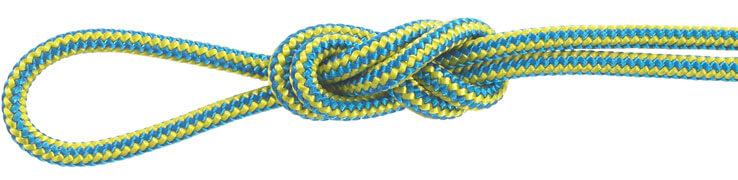 Polyester Accessory Cord Blue/Yellow