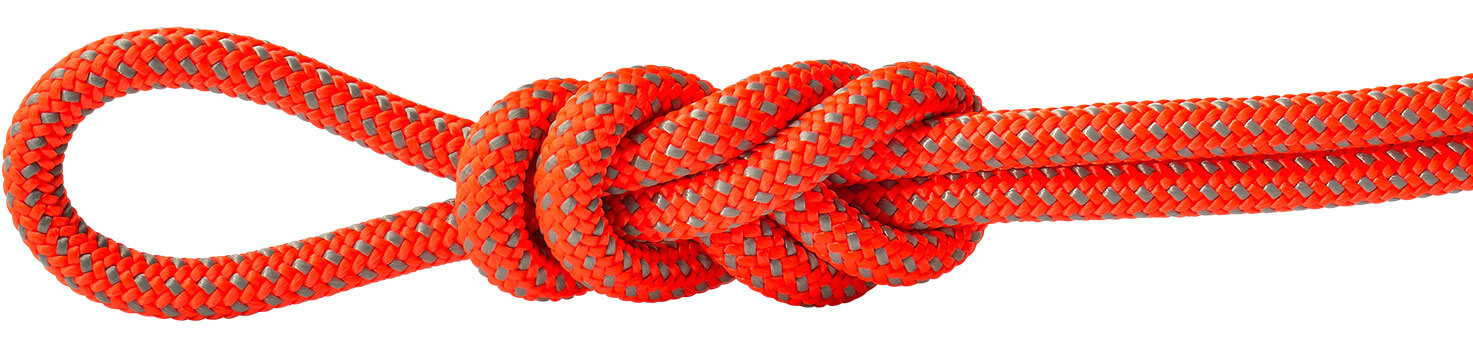 Polyester Accessory Cord Orange/Gray