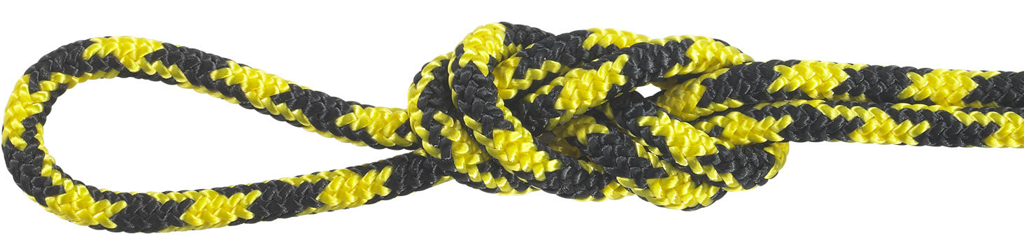 Polyester Accessory Cord Yellow/Black