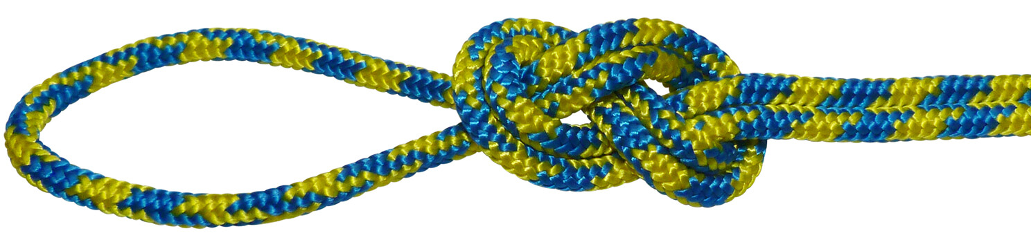Polyester Accessory Cord Yellow/Blue