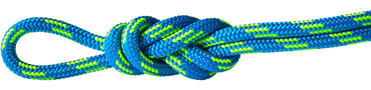 Polyester Accessory Cord Blue/Green