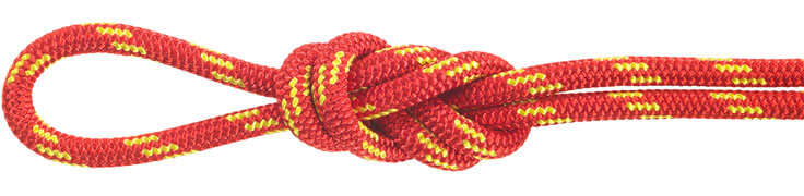Polyester Accessory Cord Red/Yellow
