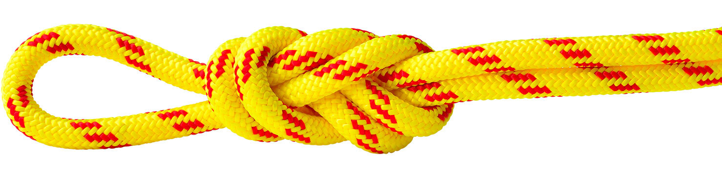 Polyester Accessory Cord Yellow/Red