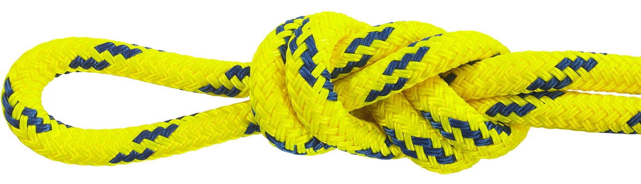 Water Rescue Rope Yellow/Blue