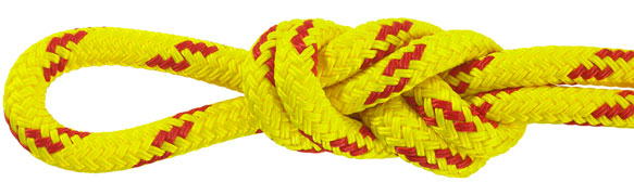 Water Rescue Rope Yellow/Red
