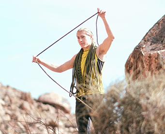 Portrait of  MAXIM climber Cameron Hörst