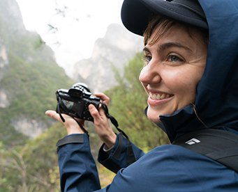 Portrait of  MAXIM climber Colette McInerney