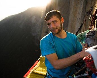 Portrait of  MAXIM climber Greg Kerzhner