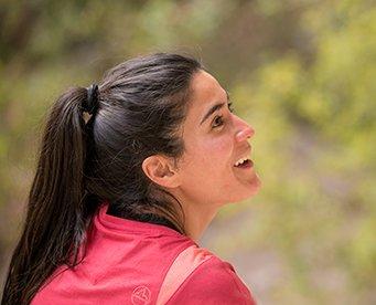 Portrait of  MAXIM climber Maria Fernanda Rodriguez Galvan