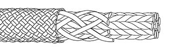 Str8 jacket rope construction